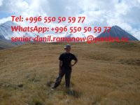 guide, driver in Kyrgyzstan, travel, hiking, excursions, tourist servi