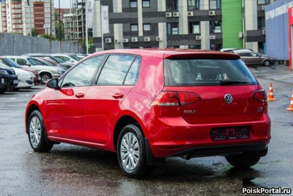 Volkswagen Golf 1.2 AT, 2014, хетчбэк