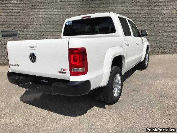 Volkswagen Amarok 2.0 AT, 2018, пикап