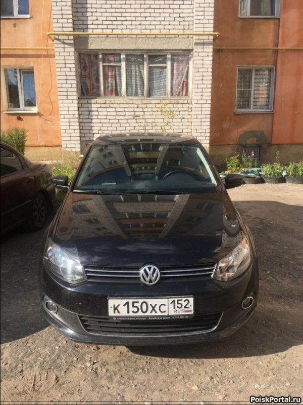 Volkswagen Polo 1.6 AT, 2012, седан