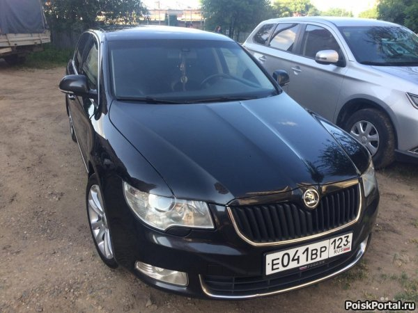 Skoda Superb 1.8 AT, 2009, седан